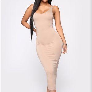 Your Needs Met Dress- Mocha